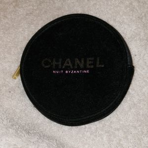 Chanel Black Velvet Case